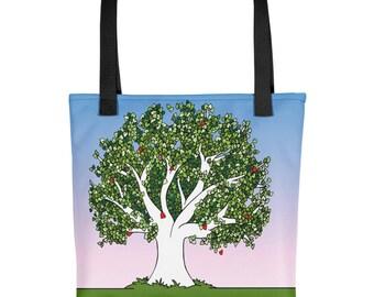 Tote bag, Book Bag, Family Tree