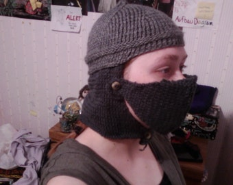 Knitted Helmet