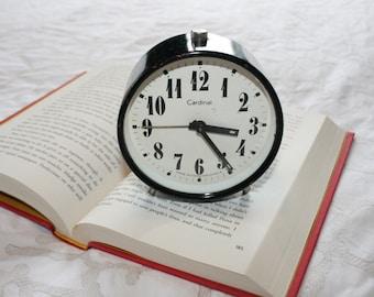 Cardinal Black & White Alarm Clock