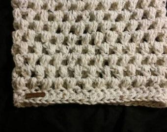 Crochet Cowl/ Neck warmer,  bubble stitch