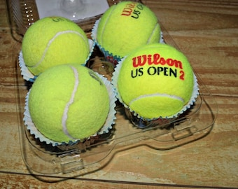 Recycled Tennis Balls Dog Toy Packs