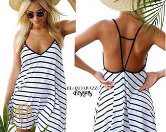 Monogram Swimsuit Coverup