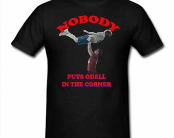 Nobody put Odell in the Corner Shirt NY Giants Shirt Suberbowl shirt Eli Manning Odell Beckham Jr Shirt
