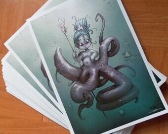 The Little Mermaid - Prints (A5)