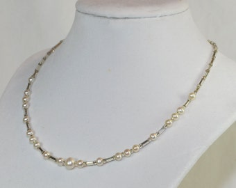 Genuine Freshwater Pearl Necklace