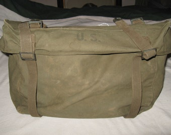 Reserved for Shawn WWII Pack Field Cargo M-1945 Combat Lower Pack C H Ellis Co 1951 Military
