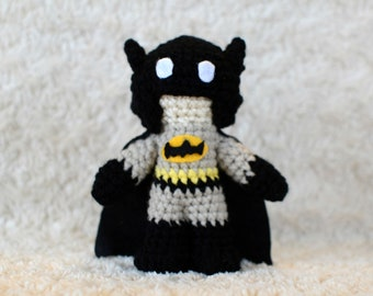 Batman Amigurumi Crochet Doll