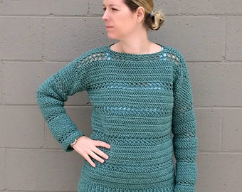 Stone Harbor Crochet Tunic - CROCHET PATTERN ONLY!