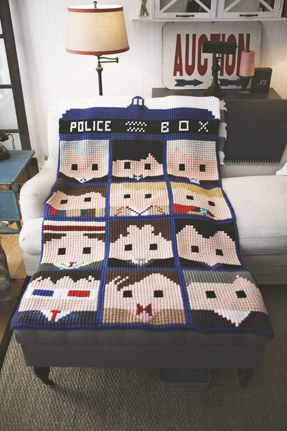Exelent Doctor Who Crochet Blanket Pattern Ideas - Easy Scarf ...