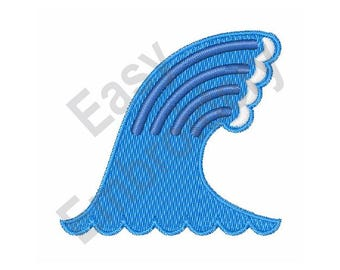 Ocean Wave - Machine Embroidery Design