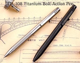 TiMaze-108 Titanium Bolt Action Pen 1.0