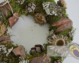 Mixed Cone Wreath - Ideal for christmas decoration and household decoration