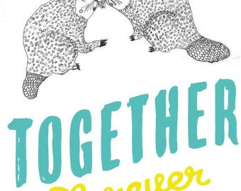 Together Forever Beavers Card