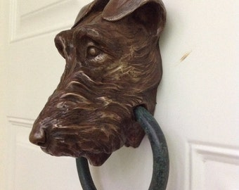 Irish Terrier Doorknocker