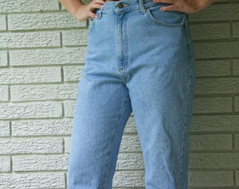 Vintage High Waisted Indie Grunge Hipster Vintage Lee Mom Jeans 12 P