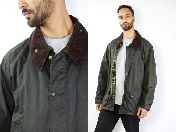 BARBOUR Bedale Coat Green Wax Coat Barbour Wax Jacket Barbour Green Barbour Coat Parka Green Coat BARBOUR Wax Jacket Wax Coat Barbour Bedale