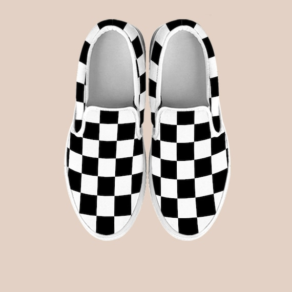 the classic Shoes Custom Vans old off On wall Shoes vans shoes skool checkerboard shoes Slip skool canvas vans Checkerboard old custom gSzw6w