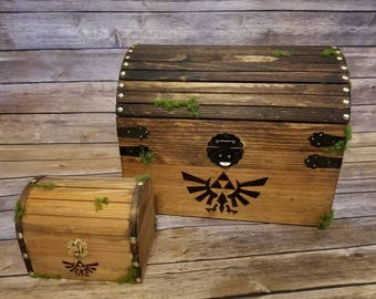 Zelda inspired chest with sound! SMALL CHEST
