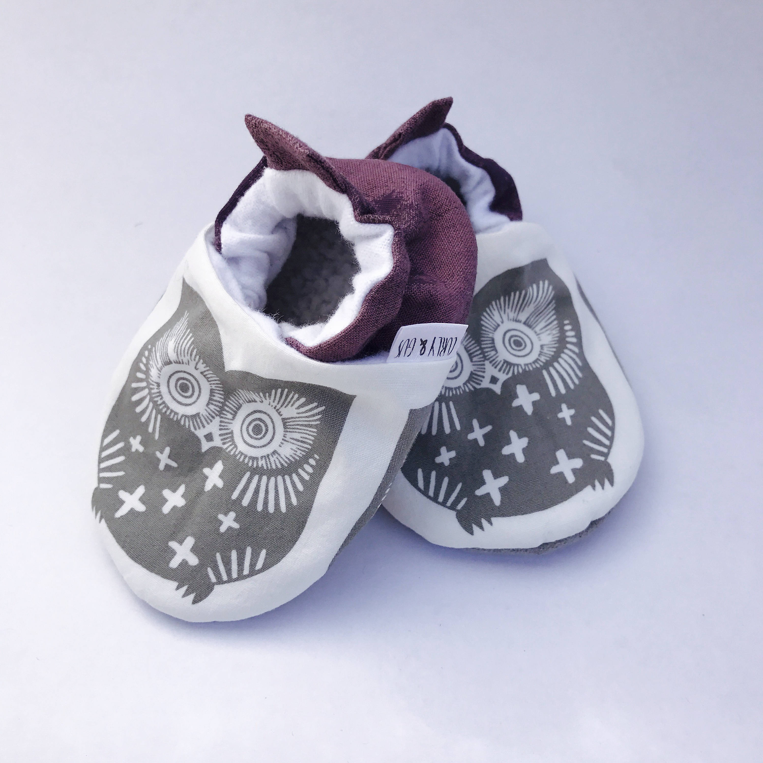 Owl Baby Shoes Baby Girl Shoes Baby Boy Gender Neutral