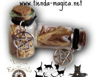 Amulets and Talismans in bottle / Amuletos y Talismanes en botella