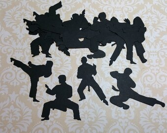 Die Cut KARATE Poses  #R-14