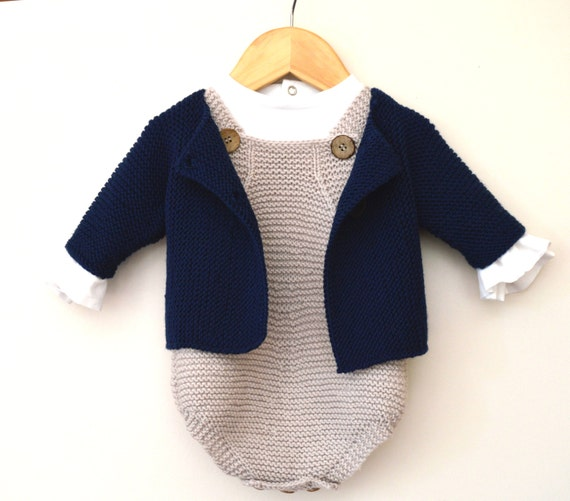 Knitting Pattern Spring Into Summer Baby All In One Romper