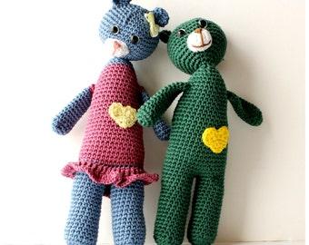 Teddy Bear Crochet Pattern PDF Instant Download