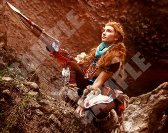 Aloy Horizon Zero Dawn Cosplay Print