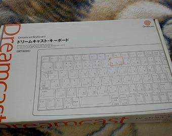 Sega Dreamcast Keyboard Skeleton Mini Version HKT-4000 *Japanese* *In Box*