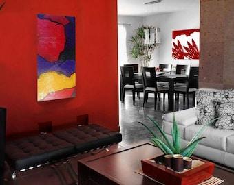 Oil painting canvas, Modern Art, Original Art, Room Decor, Inspirational Motivational Art, Gift