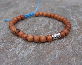 adjustable bayong bead bracelet with charm