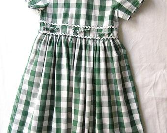 5years gingham dress