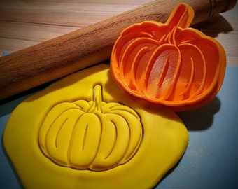 Pumpkin cookie cutter & fondant cutter