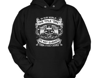 Combat Medic hoodie. Cute and funny gift idea