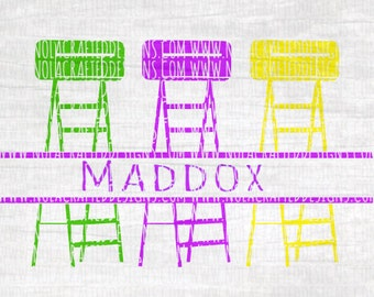Mardi Gras Svg Cut File - Mardi Gras Ladder Svg Cut File - New Orleans Svg Cut File - Louisiana Svg Cut File - Boys Mardi Gras Svg Cut File