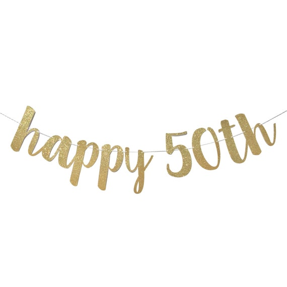 50th birthday decorations 50th birthday banner happy publicscrutiny Image collections