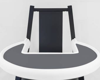 Charcoal Grey // IKEA Blames Highchair Silicone Placemat // High Chair Place Mat