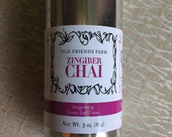 Zingiber Chai, Invigorating Loose-Leaf Tisane