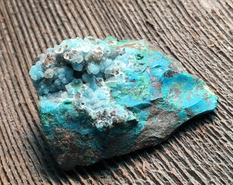 Blue + Green Chrysocolla Specimen ~ crystal dreams earth collector nature mountain travel woods love