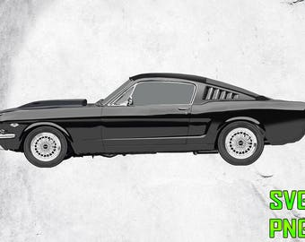 MUSTANG SVG for cutting machines Svg digital files Instant download cutting machine Laser engraving files Silhouette files Cameo files