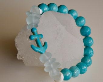 Turquoise Dreams Mala Bracelet