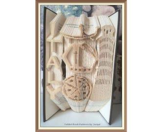 553. Italy - Book Folding - Pattern