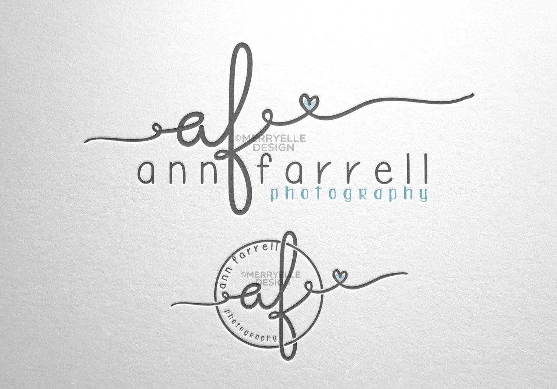 custom handwritten logo    signature design    initials logo