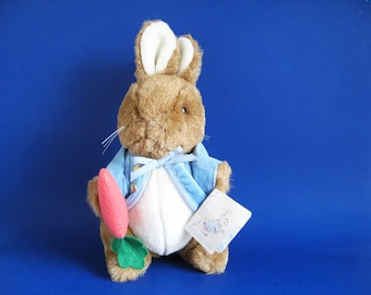 Vintage Peter Rabbit Stuffed Animal Toy by Eden Beatrix Potter 1980s Toys Kids Toys Bunny Rabbit Plush