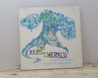 The Keris Emerald, 1970, Mary Parke Johnson, Brigette Bryan, vintage kids book