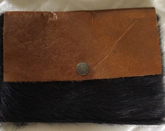 Hair on Hide Clutch