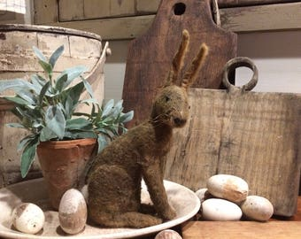 Digital E-Pattern -  Sitting Rabbit  - Cinnamon Creek Folk Art