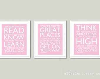 Nursery Prints - Nursery Wall Art - Nursery Decor - Children's Room Print - Aldari Art