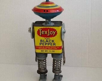TexJoy Found Object Robots by JoySun Robots