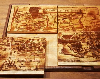 Artwork Coaster - A Part of the Shire